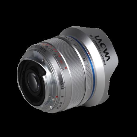 Laowa 11 mm f/4,5 FF (stříbrný)