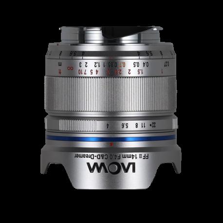 Laowa 14 mm f/4,0 FF RL Zero-D (stříbrný)