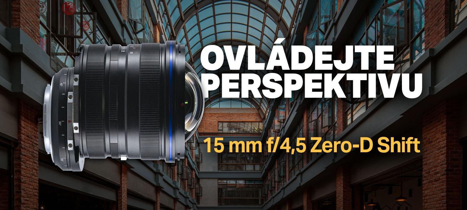 Laowa 15 mm f/4,5 Zero-D Shift