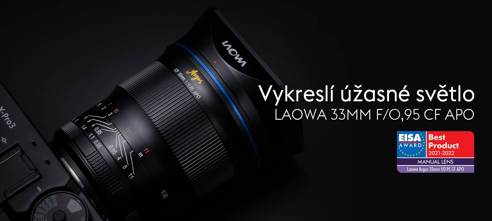 Laowa Argus 33 mm f/0.95 CF APO